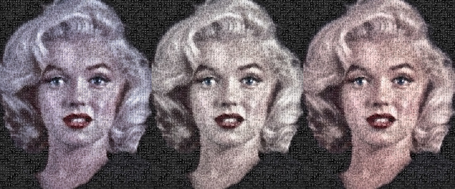 , 'Triple Marilyn,' 2009, Tangent Contemporary Art