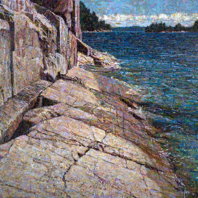 , 'Agawa Rock, Lake Superior Provincial Park,' 2017, Nicholas Metivier Gallery