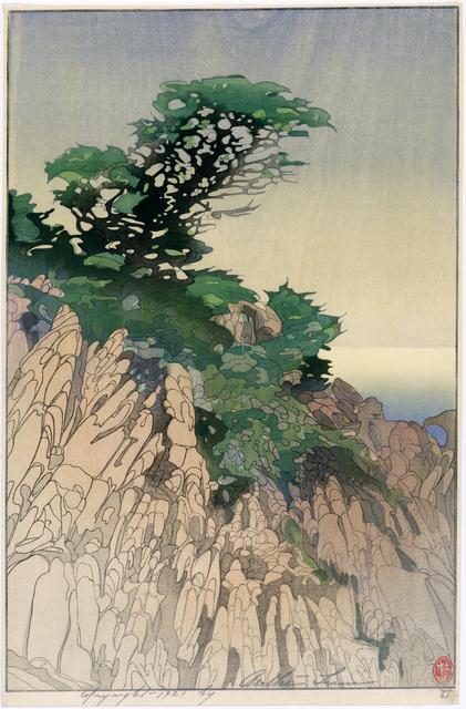 Bertha Lum, 'Point Lobos (California)', 1920, Egenolf Gallery Japanese Prints & Drawing