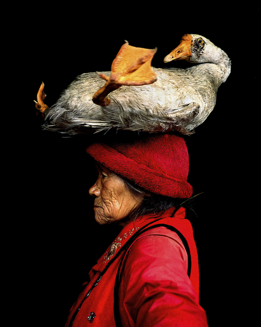 , 'Lady With The Goose,' , Paul Nicklen Gallery