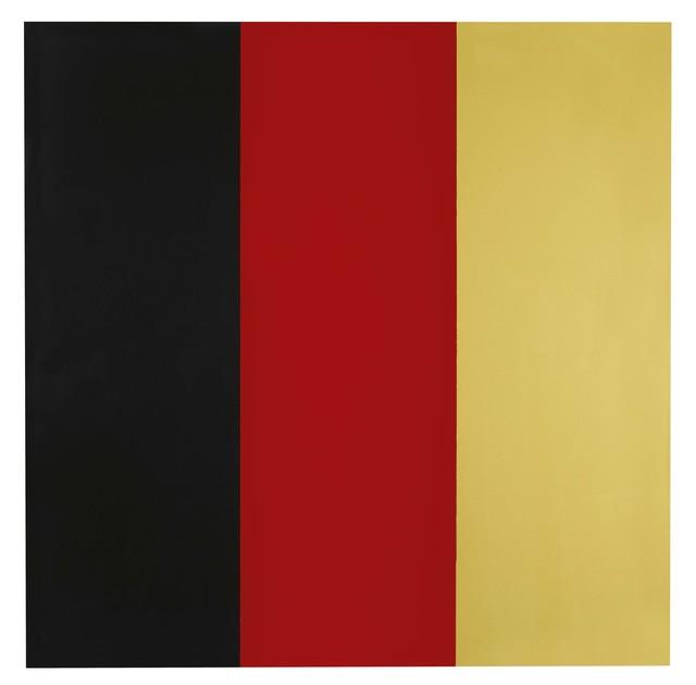 , 'Schwarz, Rot, Gold III,' 1999, Galerie Schwarzer