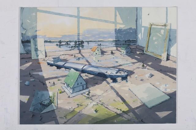 Sven Kroner, 'Atelierecke 3', 2017, Galerie Fons Welters