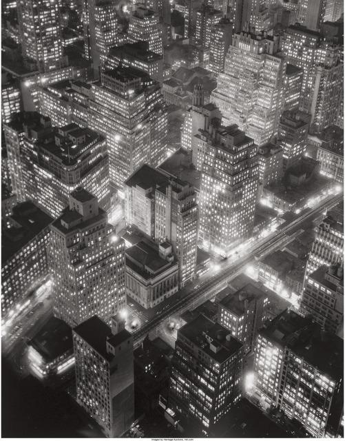 Berenice Abbott, 'New York at Night', 1932, Heritage Auctions