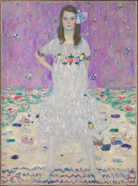 Gustav Klimt, 'Mäda Primavesi (1903–2000)', 1912–1913, The Metropolitan Museum of Art