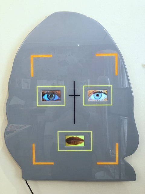 Tony Oursler, 'L%3M', 2018, Public Art Fund Benefit Auction