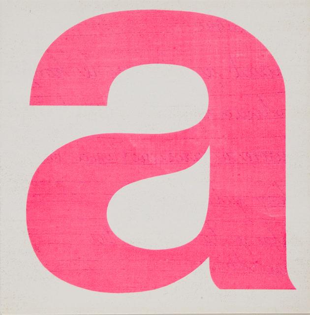 , 'A No.6,' 1964, Aanant & Zoo