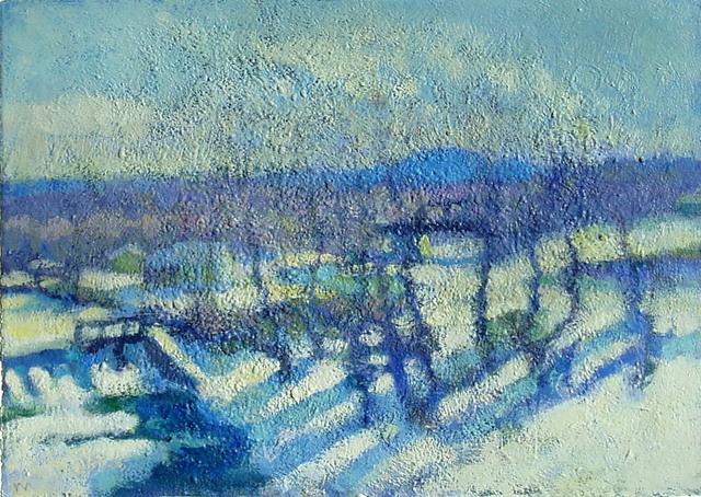 Don Wynn, 'River in Winter', 2021, Painting, Acrylic, Keene Arts
