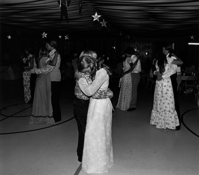 Bill Owens, 'Our eighth-grade graduation dance was really far out', 1973, Etherton Gallery