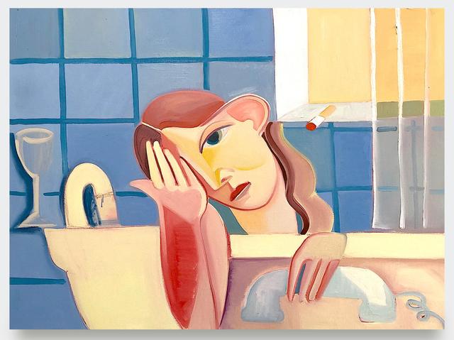, 'Blue Bather,' 2019, V1 Gallery
