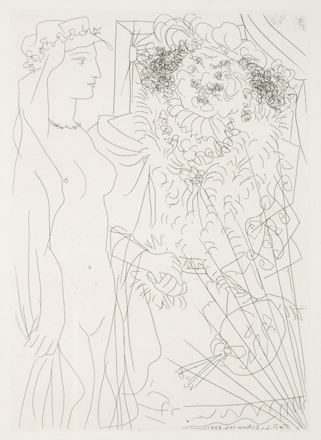 , 'Rembrandt et Femme au Voile,' 1934, Odon Wagner Contemporary
