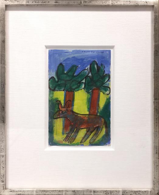 , 'Vache aux deux arbres,' 1943, Jonathan Novak Contemporary Art