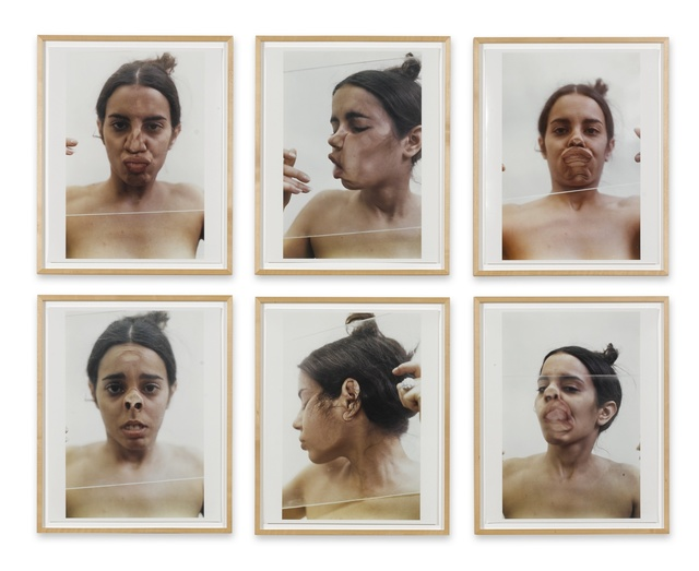 Ana Mendieta, 'Untitled (Glass on Body Imprints)', 1972, Photography, C-print, in 6 parts, Sotheby's