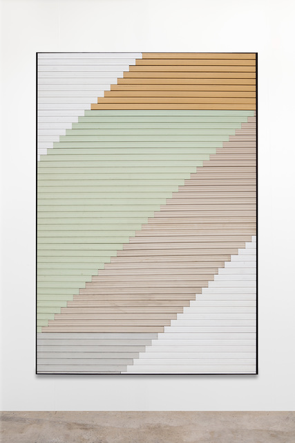 Alek O., 'Untitled', 2014, Mixed Media, Plastic Shutters, Framed, Frutta