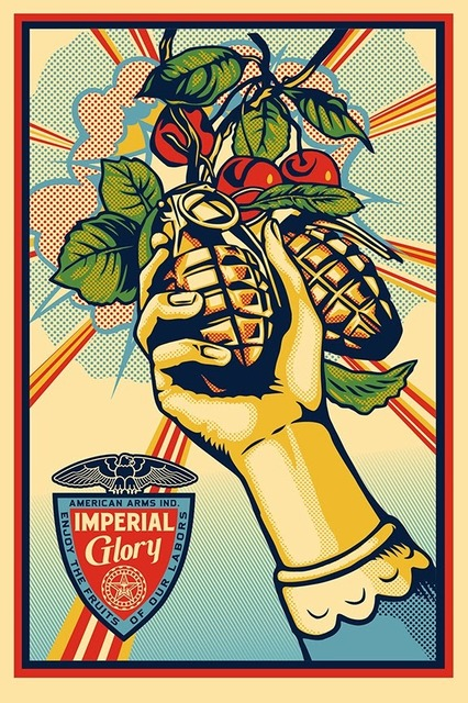 Shepard Fairey, 'Imperial Glory ', 2011, Print, Lithograph, New Union Gallery
