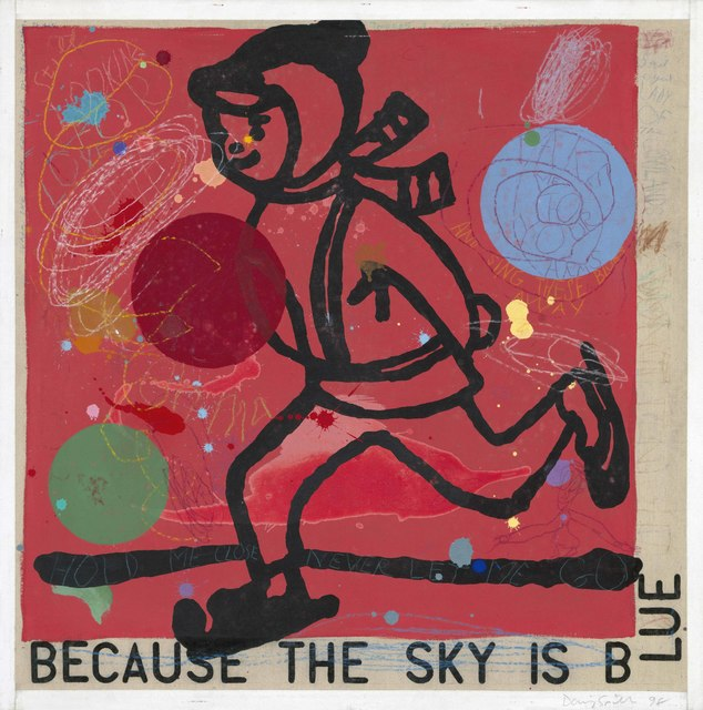 , 'Because the Sky is Blue,' 1998, Portland Gallery