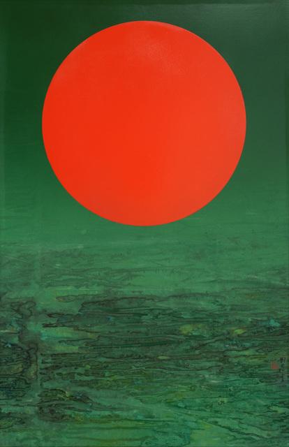 , 'Red Sun,' 2015, Galerie du Monde