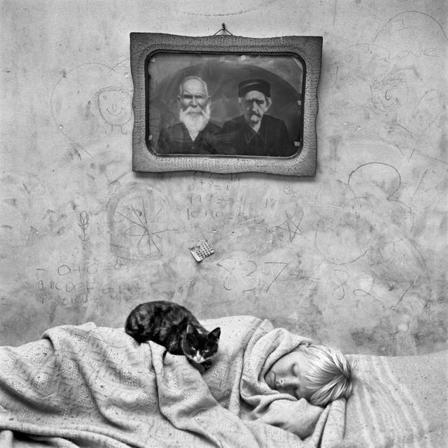Roger Ballen, 'Portrait of Sleeping Girl', 2000, Galeria Senda