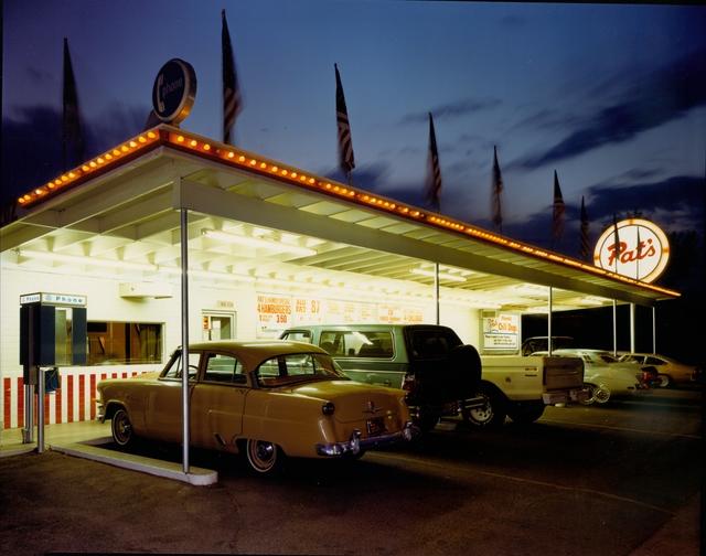 Jim Dow, 'Pat's Drive-In, Tucson, Arizona', 1980, Robert Klein Gallery