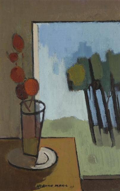 , 'At the Window,' 1956, Debra Force Fine Art