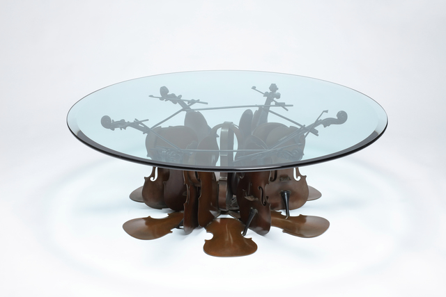 , 'Table Basse de Violons,' 1997, Asia University Museum of Modern Art
