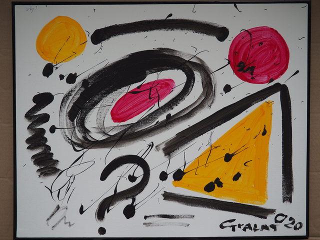 Maria Teresa Guala, 'Why?', 2020, Painting, Acrylic on canvas, Secret Art Ltd.