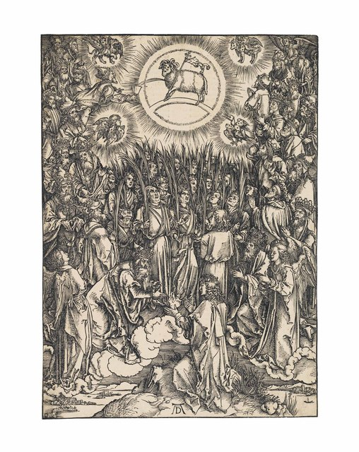, 'The Adoration of the Lamb, from: The Apocalypse (B. 67; M., Holl. 176; S.M.S. 124),' ca. 1496-97, Christie's Old Masters