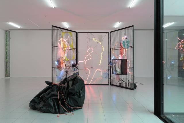 , 'A Sunday Mess; De 7 sacramenten (glas, vuur, wit, was, rook, natuur, vandaal),' 2017, Museum Dhondt-Dhaenens