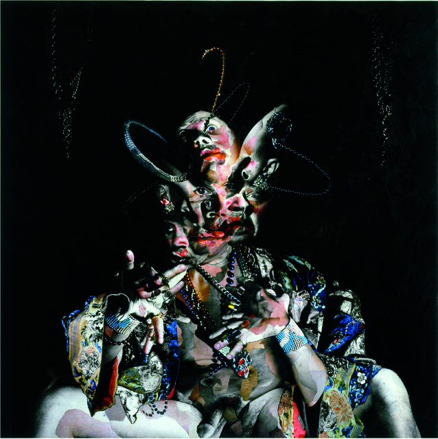 Chambliss Giobbi, 'Tanz Fur Mich-Salome! (Self portrait)', International Collage Center