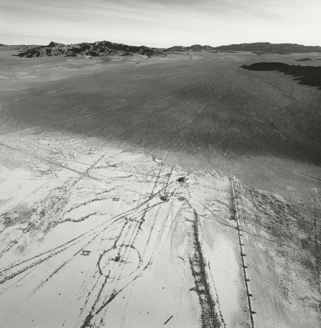 Emmet Gowin, 'The Eastern Edge of Frenchman Flat Showing the Transition from Alluvial Wash to Dry Lake Bed, Looking East, Area 5, Nevada Test Site', 1997, Pace/MacGill Gallery