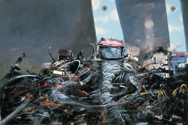 , 'Cyber Surveillance on the Wasteland,' 2009, Weinstein Gallery