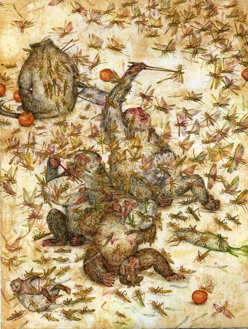 Mu Pan, 'Locusts', 2015, Coleccion SOLO