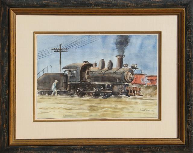 Reginald Marsh, 'Locomotive', 1932, RoGallery