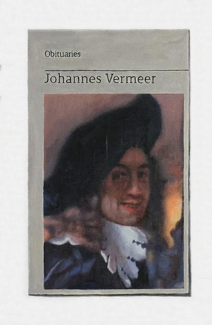 , 'Obituary: Johannes Vermeer,' 2018, Charlie Smith London