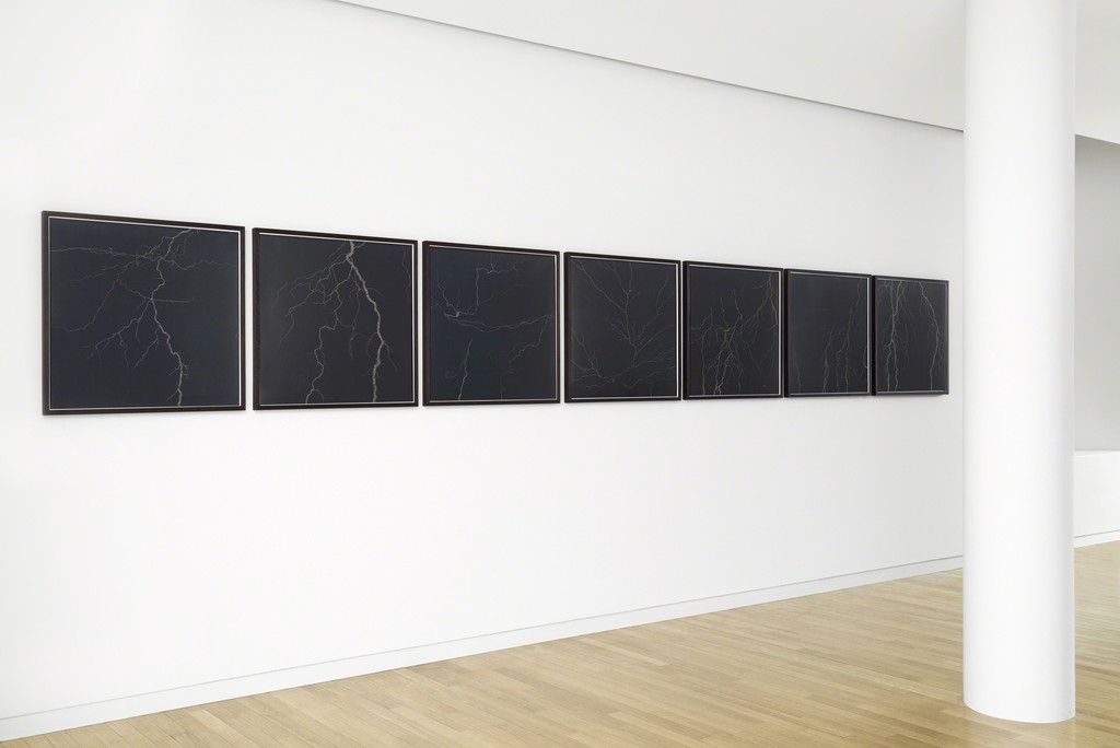 Tacita Dean, Lightning Series I-VII, 2007, Credit Christian Kain, Courtesy Fondation Louis Vuitton
