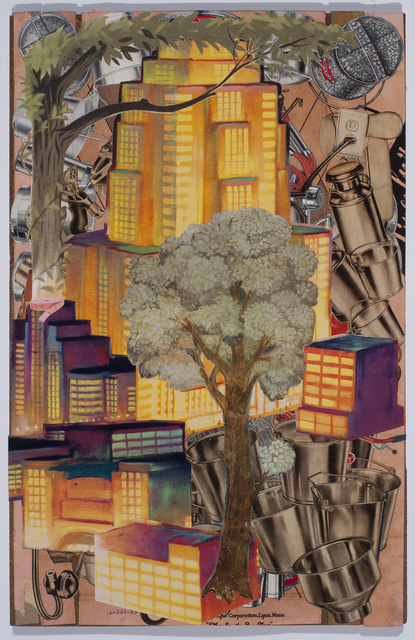 , 'Golden Tower,' 2016, Tayloe Piggott Gallery