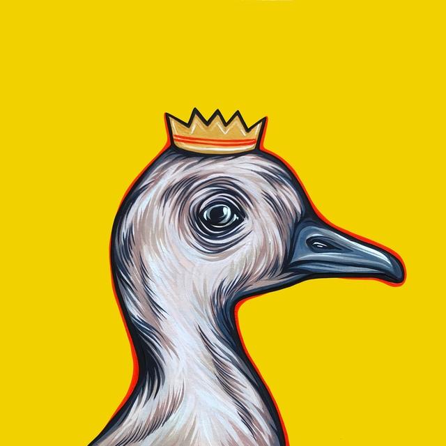 Kaitlin Ziesmer, 'Mighty Ducks: Orange Crown', 2019, Abend Gallery
