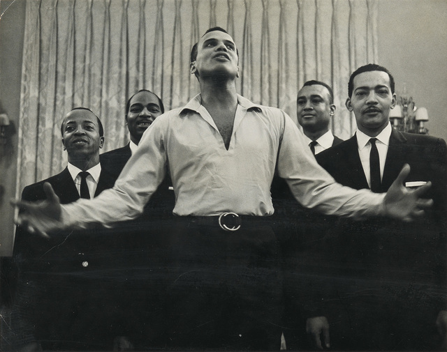 Roy DeCarava, 'Untitled (Harry Belafonte, Carnegie Hall).', 1960, Photography, Silver print, Swann Auction Galleries