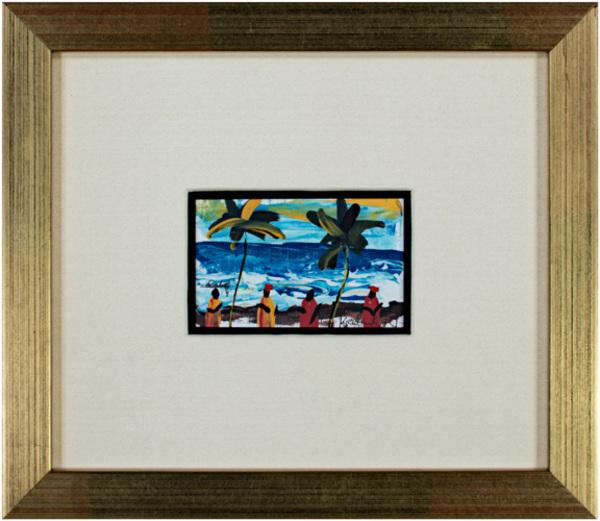 , 'Dancing on the Sandy Beach of the S. Atlantic Shore, Ghana, Africa (Palm Trees),' 2006, David Barnett Gallery