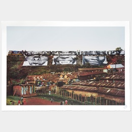 In Kibera Slum, Train Passage 1