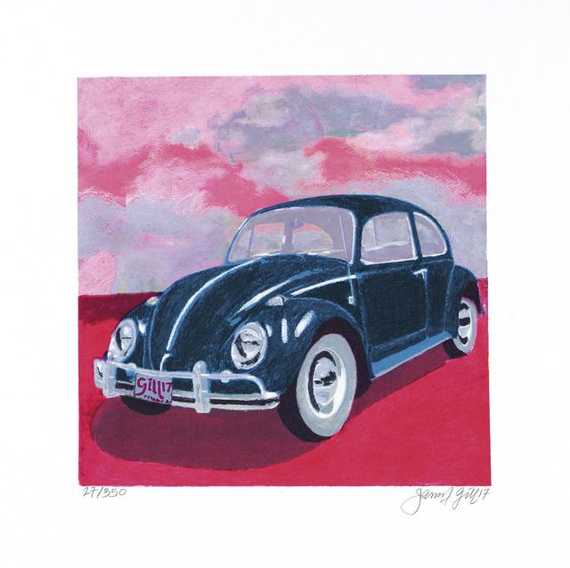 James Gill, 'Mini Bug - Pink Sky', 2017, Castle Fine Art