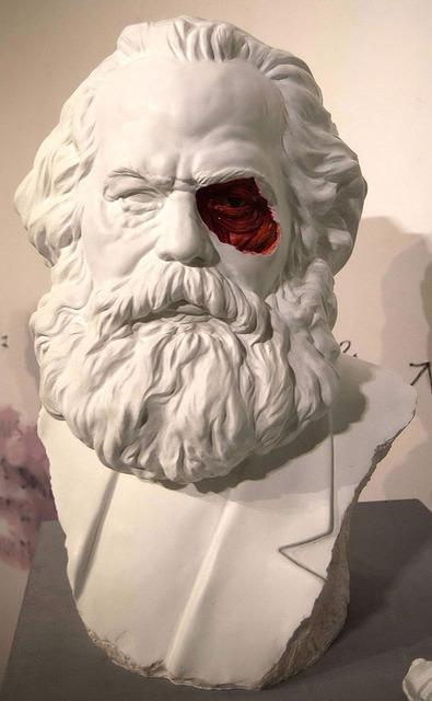 , 'Marx's sculpture,' 2013, Habana