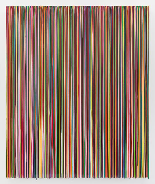 , 'IGOTTOKEEPMETHERE(AWAKEONATRAIN),' 2015, Miles McEnery Gallery