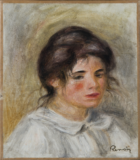 , 'Femme en blouse blanche (Gabrielle),' Painted circa 1907, Hammer Galleries