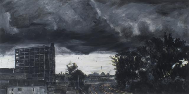 Peter Krausz, 'Gare de triage (été, tempête)', 2011, Galerie de Bellefeuille