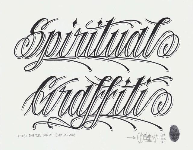 , 'Spiritual Graffiti,' 2017, Black Book Gallery