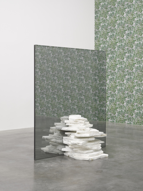 Virginia Overton, 'Untitled', 2016, Sculpture, Glass and Danby marble, White Cube
