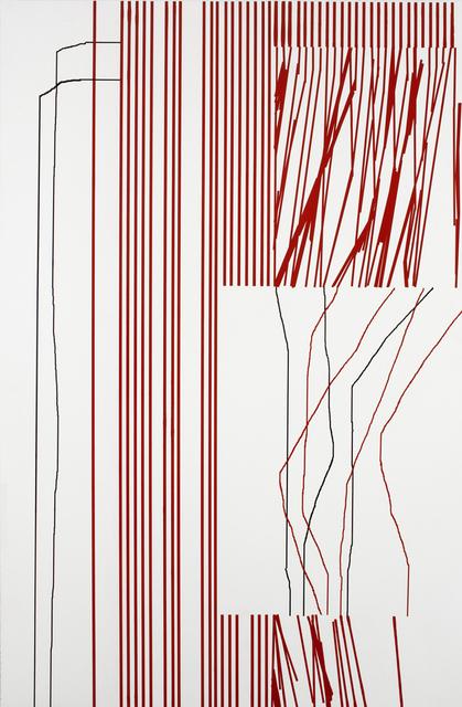 , 'Red Fucking-Alert,' 2016, Barry Whistler Gallery