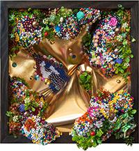 , 'Golden,' 2018, Flinders Lane Gallery