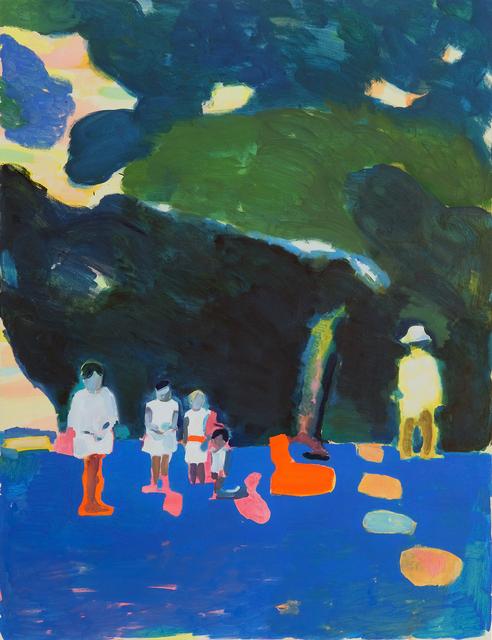 , 'Klee in the south of France (postcard),' 2018, RYAN LEE