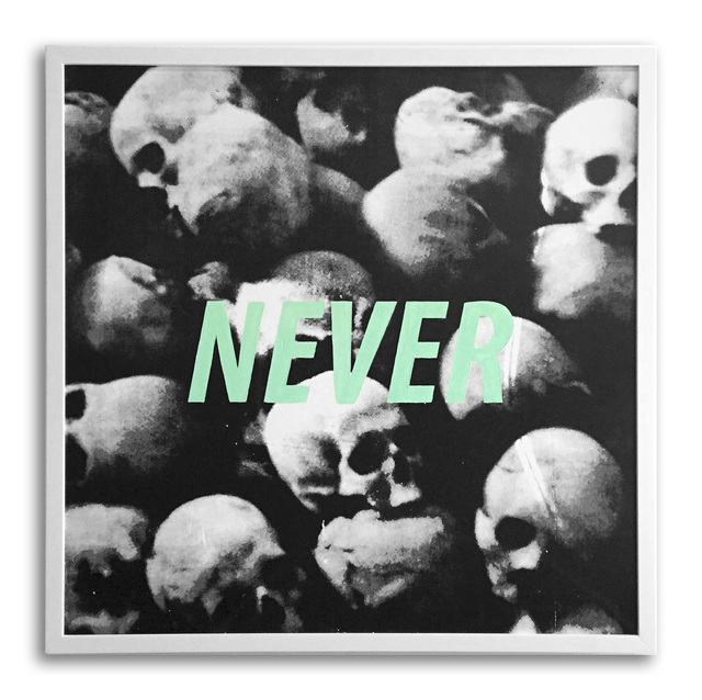 , 'Never,' 2015, StolenSpace Gallery